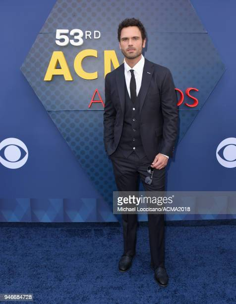 Chuck Wicks attends the 53rd Academy of Country Music Awards at MGM Grand Garden Arena on April 15 2018 in Las Vegas Nevada