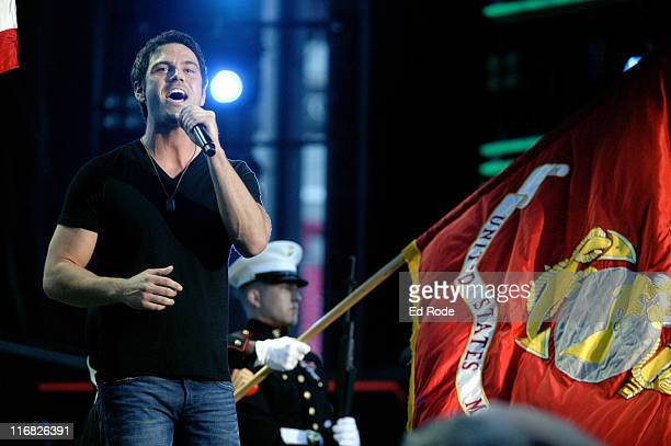 Chuck Wicks performs during the 2009 CMA Music Festival at LP Field on June 11 2009 in Nashville Tennessee
