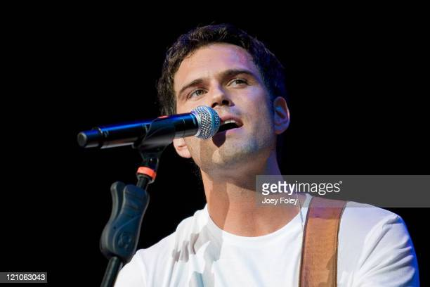 Chuck Wicks performs live in concert on June 26 2008 at the Verizon Wireless Music Center in Noblesville Indiana