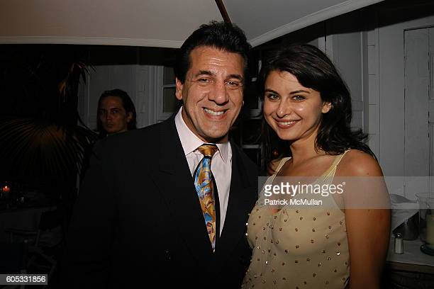Chuck Zito and Oksana Lada attend Nello's Summertime at Southampton on May 28 2006 in Southampton New York