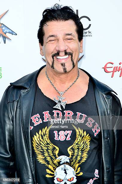 Chuck Zito arrives at the 2014 Revolver Golden Gods Awards at Club Nokia on April 23 2014 in Los Angeles California