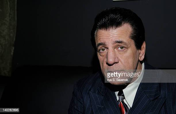 Chuck Zito attends Chuck Zito's birthday party during Jaguars 3 opening night on March 1 2012 in the Brooklyn borough of New York City