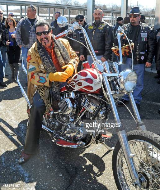 Chuck Zito attends the 5th Annual Motorcycle Awareness Ride on April 6 2014 in Hauppauge New York