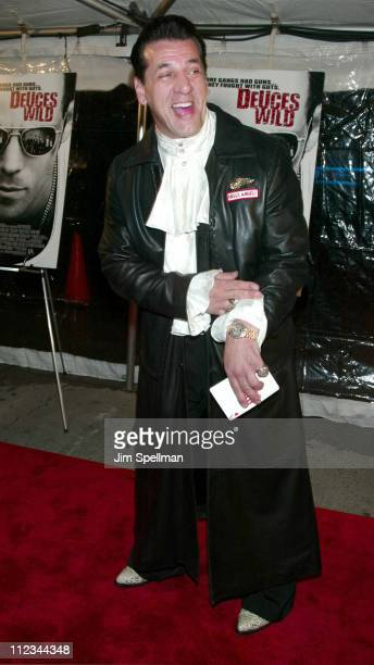 Chuck Zito during Deuces Wild New York City Premiere at Chelsea West Cinema in New York City New York United States