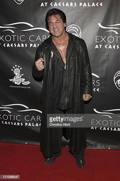 Chuck Zito during Exotic Cars Auction to Benefit the Lili Claire Family Resource Center at UNLV April 7 2005 at Caesar's Palace in Las Vegas Nevada...