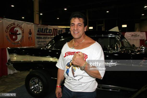 Chuck Zito during FunkMaster Flex Car Show June 24 2006 at New Jersey Expo and Convention Center in Edison New Jersey United States