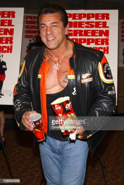 Chuck Zito during Knockaround Guys Premiere New York at AMC Empire 25 Theatre in New York City New York United States
