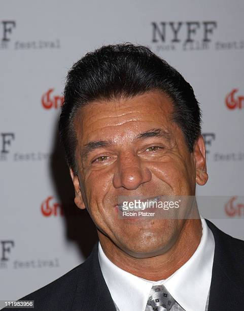 Chuck Zito during Opening Night of The 41st New York Film Festival Inside Arrivals For Clint Eastwood's Mystic River at Avery Fisher Hall at Lincoln...