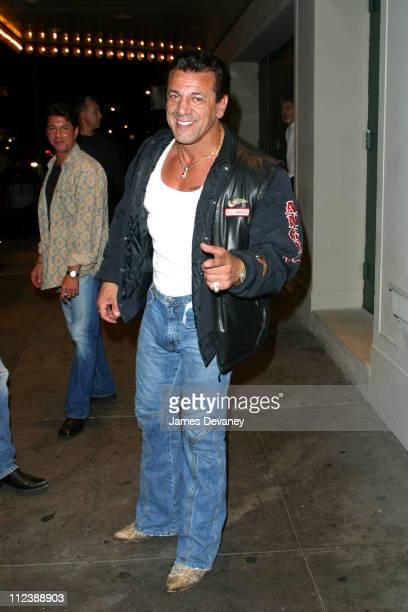 Chuck Zito during Rolling Stones Concert at Roseland Arrivals at Roseland in New York City New York United States