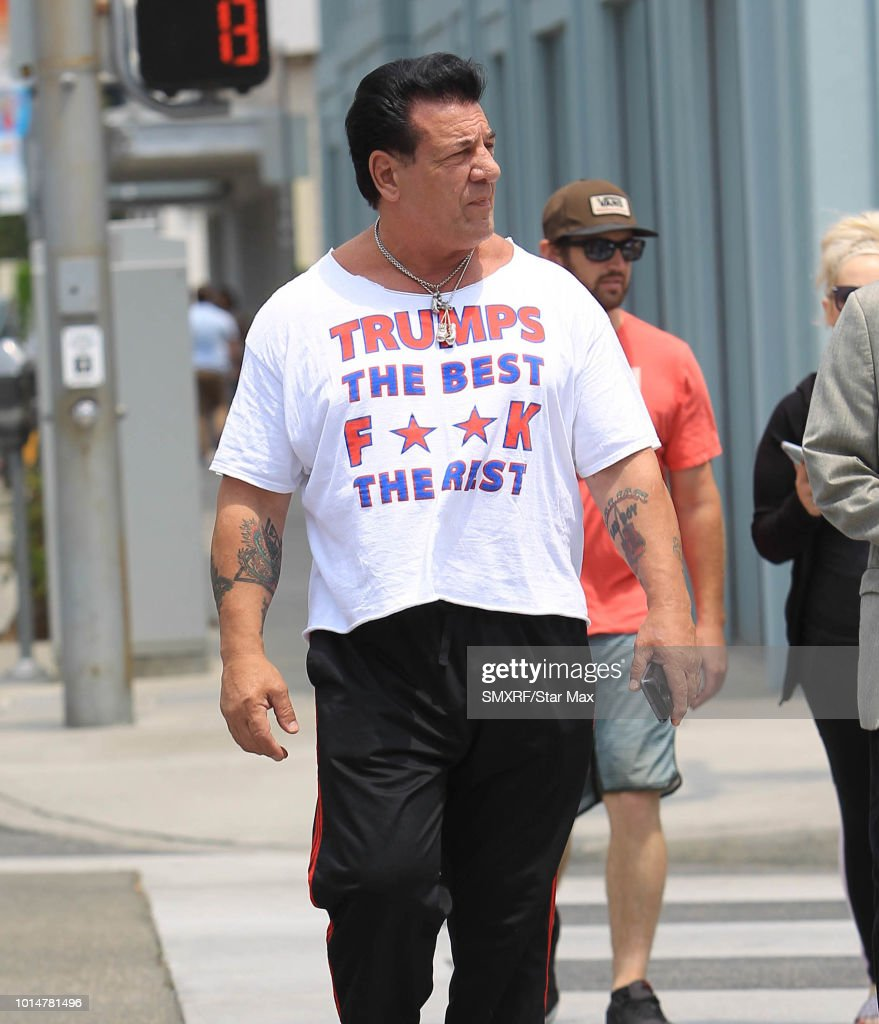 Chuck Zito is seen on August 10, 2018 in Los Angeles, CA.