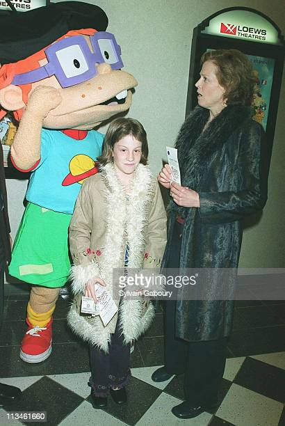 Chuckie Sigourney Weaver Charlotte Simpson during premiere of Rugrats in Paris at Loews Kips Bay Theater in New York New York United States