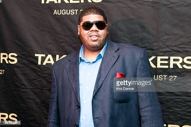Chucky Thompson poses for photographers during a screening of Takers at the AMC Georgetown on August 9 2010 in Washington DC