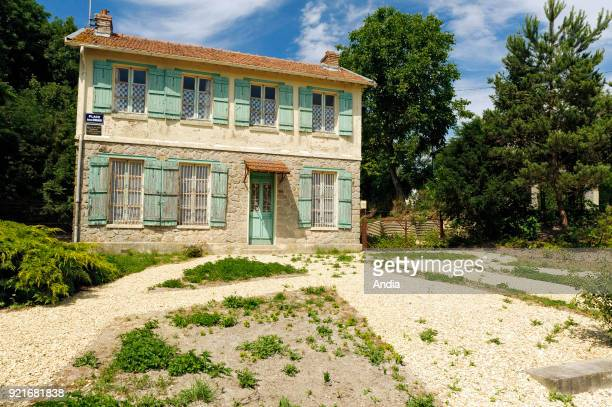 house from the Ardennes built in place of the former Rimbaud Cuif's farm where Arthur Rimbaud wrote 'Le bateau ivre' in 1871 and 'Une saison en...