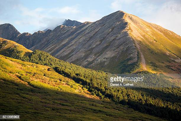 Chugach Mountains in Alaska