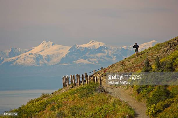chugach state park, alaska. - chugach state park stock pictures, royalty-free photos & images