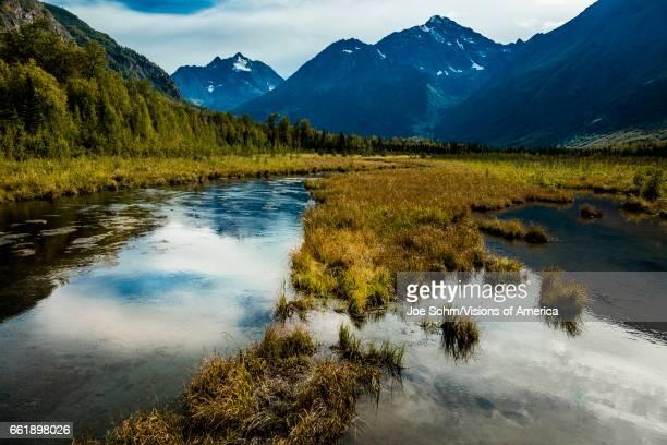 Chugach state park, outside of Anchorage Alaska.