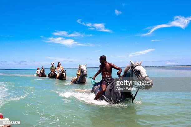 chukka caribbean adventures, jamaica. - jamaica stock pictures, royalty-free photos & images