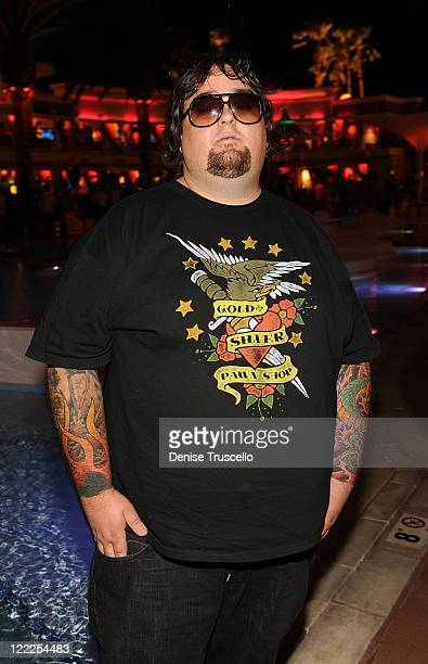 Chumlee from the History Channel's Pawn Stars attends the Vegas Magazine's 7th Anniversary party at Surrender Nightclub at Encore Las Vegas on June...