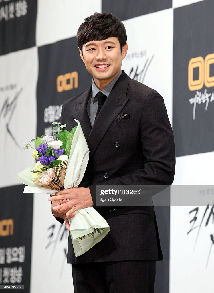 Chun Jung-Myung attends the OCN drama 'Reset' press conference at Imperial Palace on August 20, 2014 in Seoul, South Korea.
