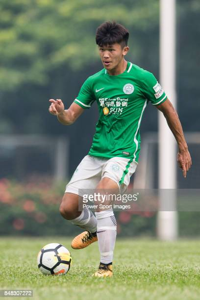 Chun Lok Tan of Wofoo Tai Po in action during the week three Premier League match between BC Rangers and Wofoo Tai Po at Sham Shui Po Sports Ground...