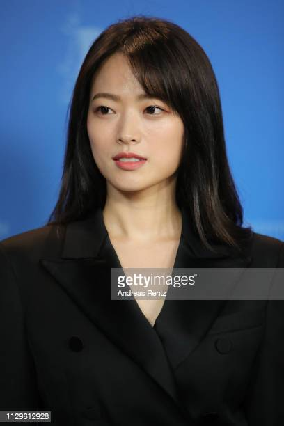Chun Woohee poses at the Idol photocall during the 69th Berlinale International Film Festival Berlin at Grand Hyatt Hotel on February 14 2019 in...