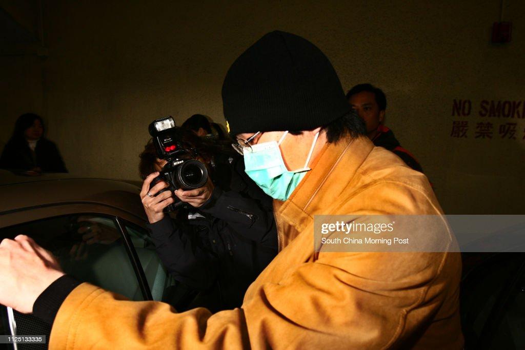 Chung Yik-tin walks out the Tuen Mun court  Chung Yik-tin