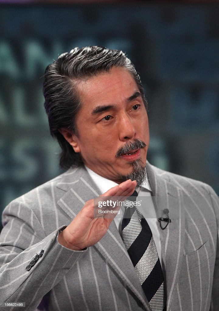 Chun-Kwan 'Sandy' Chim, president and chief executive officer of Century Iron Mines Corp., speaks during a Bloomberg Television interview in London, U.K., on Thursday, Nov. 22, 2012. Iron ore, trading at the most expensive level in almost four months, is set to stay near the highs until the end of the year on signs of improving growth in China as a new leadership takes over. Photographer: Chris Ratcliffe/Bloomberg via Getty Images