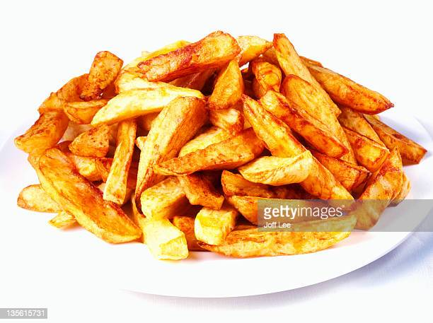 chunky chips - thick stock pictures, royalty-free photos & images