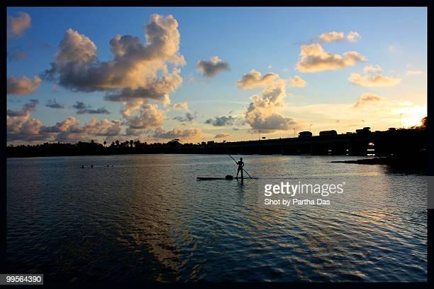 Chunnambar backwaters, Pondicherry