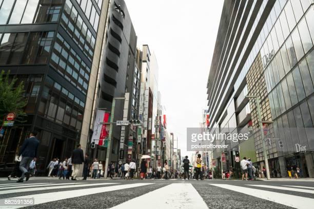 中央通り銀座地区の東京, 日本の