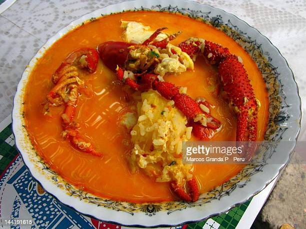 Chupe de Camarones majeño