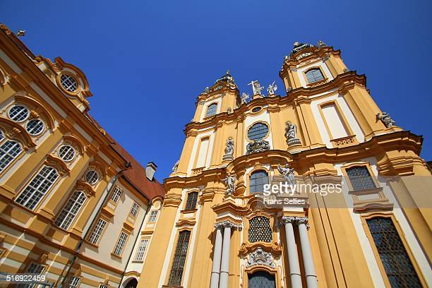 Church at Melk Abbey, Austria