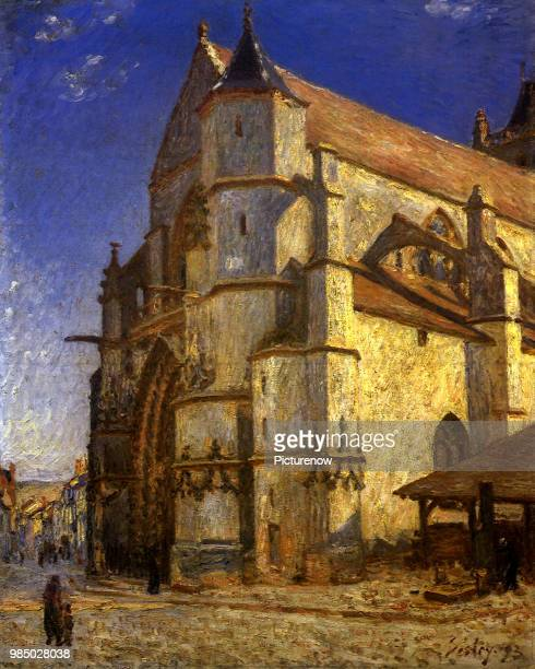 Church at Moret Sisley Alfred