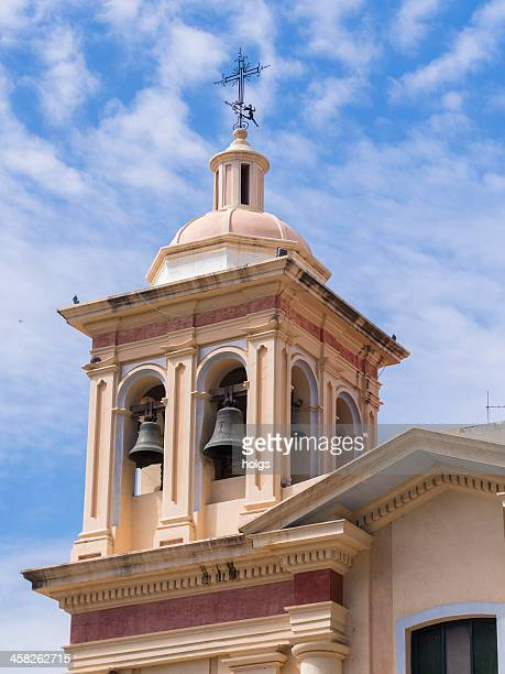 church bell tower, cordoba, argentina - cordoba argentina stock pictures, royalty-free photos & images