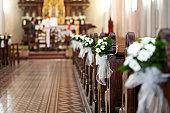 Church bouquets