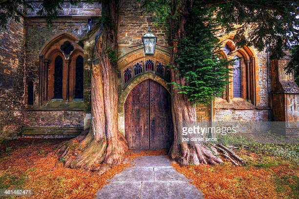Church Door, Stow on the Wold, Cotswolds, England