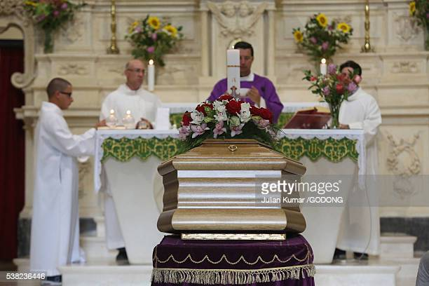 Church funeral.