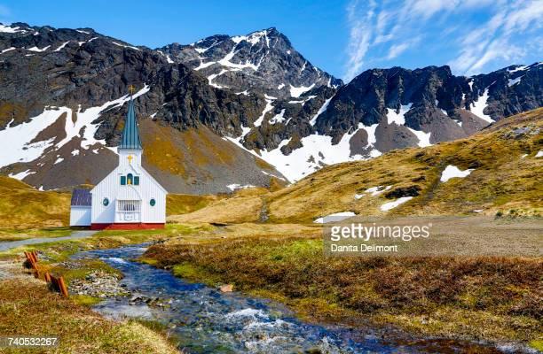 Church, Grytviken, South Georgia Island
