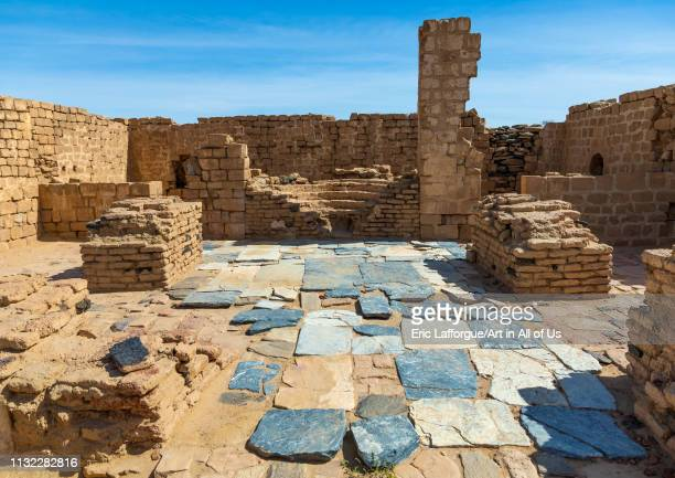 Church in al Ghazali christian monastery Northern State Wadi Abu Dom Sudan on December 27 2018 in Wadi Abu Dom Sudan