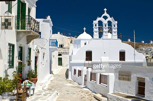 Église en Île d'Amorgos île de Grèce
