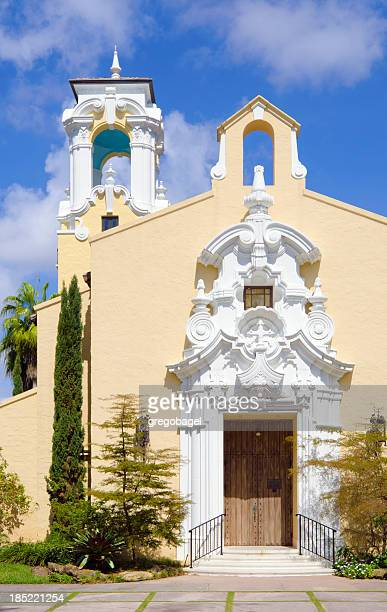 church in coral gables, fl - coral gables stock pictures, royalty-free photos & images