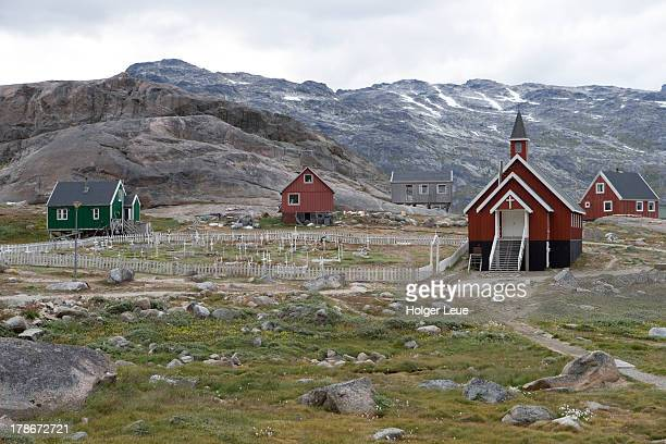 Church in Greenland's southern-most village