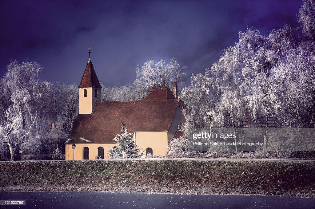 Church In light : Stock Photo