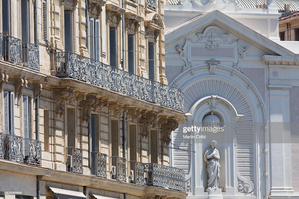 Church in Marseilles : Stock Photo