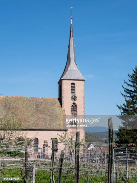 Church in Nothalten. Images taken in the Alsace Region of France between Chatenois and Andlau