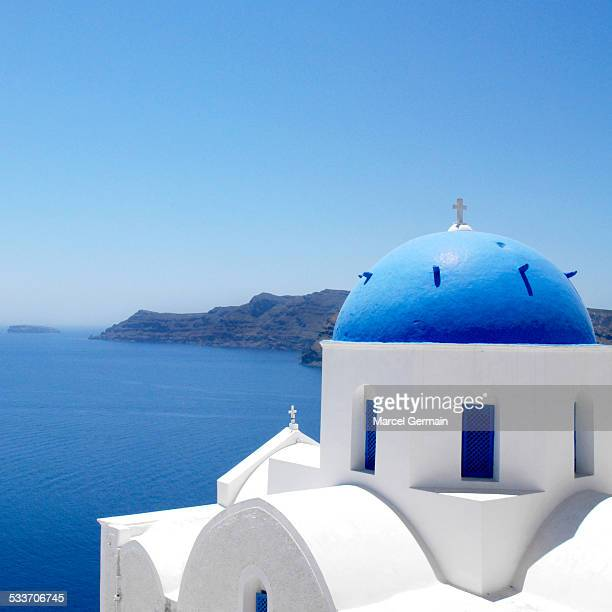 Church in Oia, Santorini (Greece)