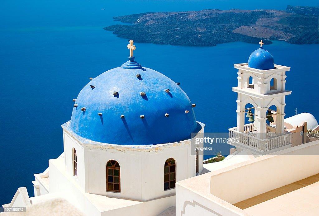 Church in Santorini, Greece : Stock Photo