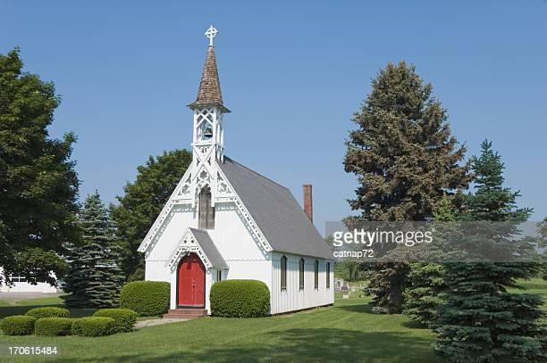 教会の国、小さな田舎のビクトリアン