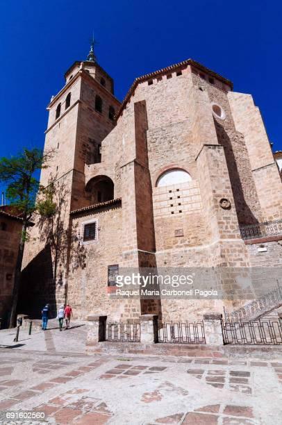 ALBARRACíN TERUEL ARAGóN SPAIN Church in the medieval village of Albarracin
