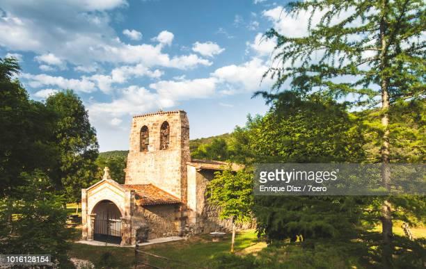 Church in the woods, Castilla y León